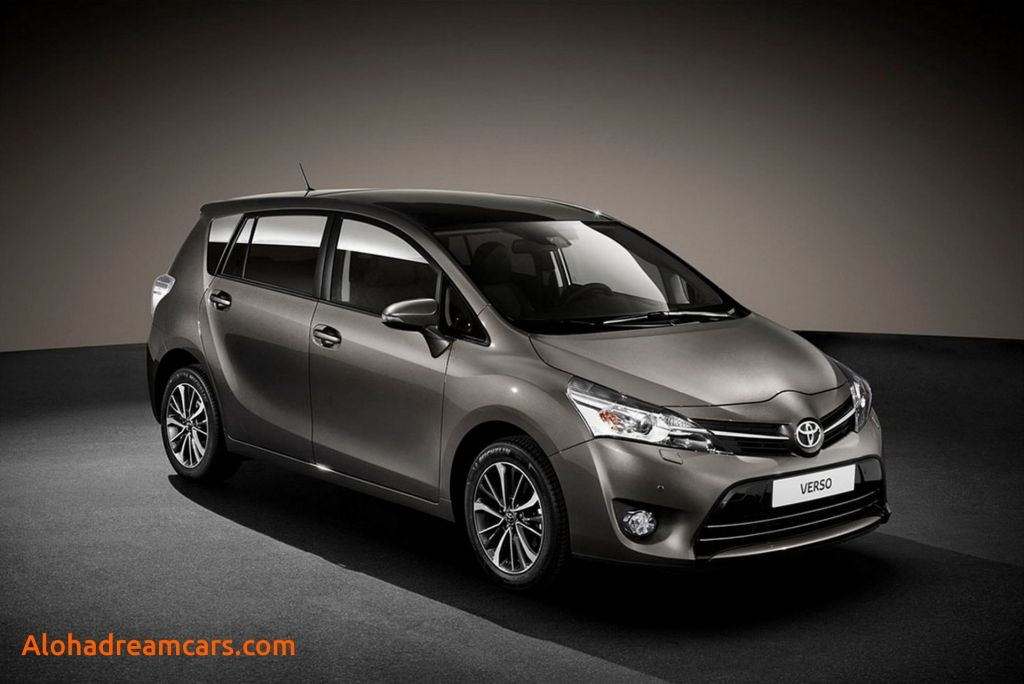 85 The 2020 Toyota Verso New Concept