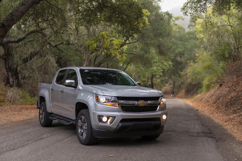 86 A 2020 Chevy Colorado Release