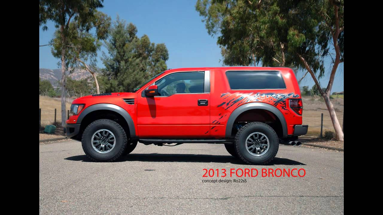 86 New 2020 Ford Svt Bronco Raptor Exterior