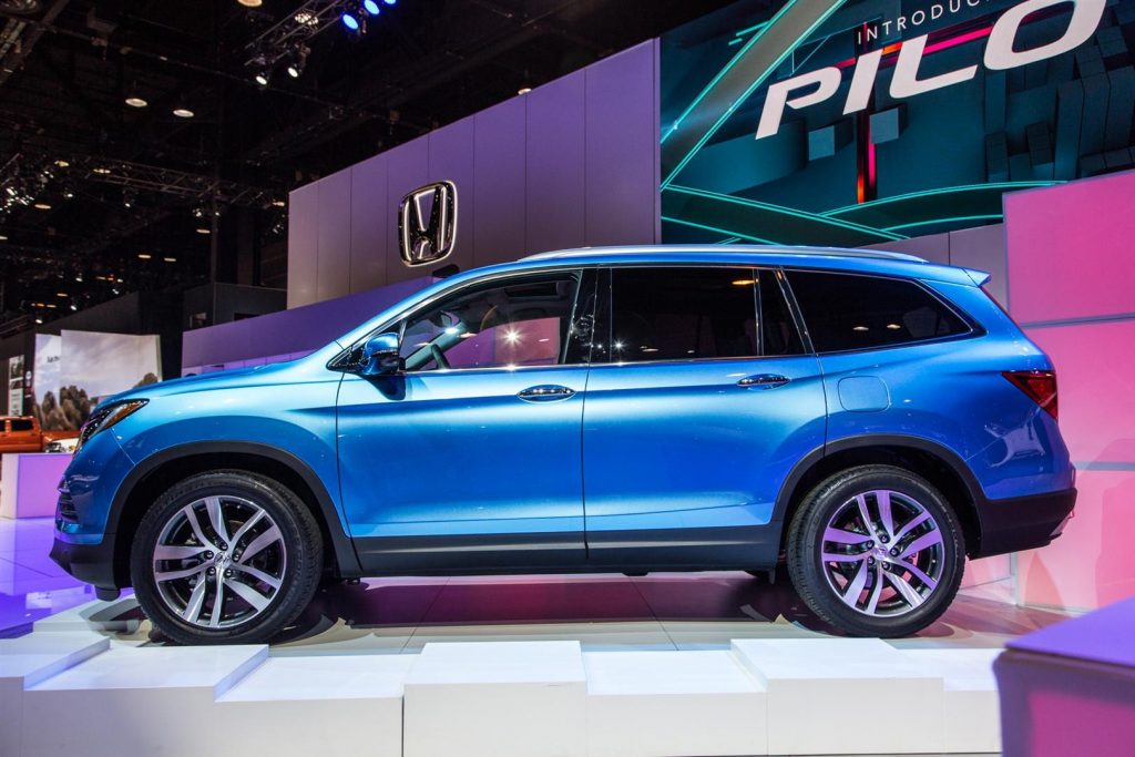 86 The 2020 Honda Pilot Spy Release