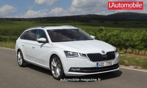86 The 2020 The Spy Shots Skoda Superb First Drive
