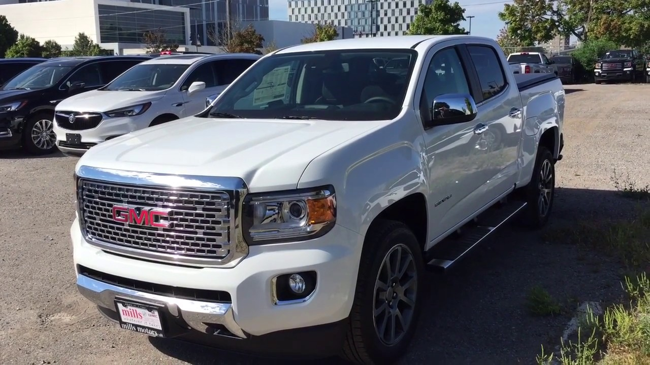 86 The Best 2019 GMC Canyon Denali Concept