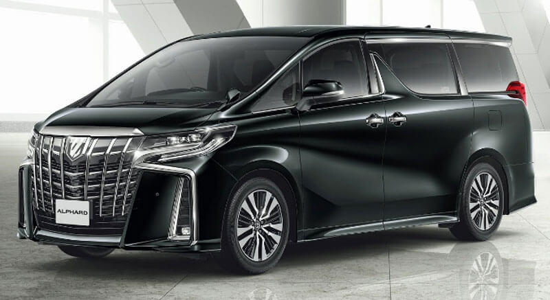 87 A 2019 Toyota Alphard Photos