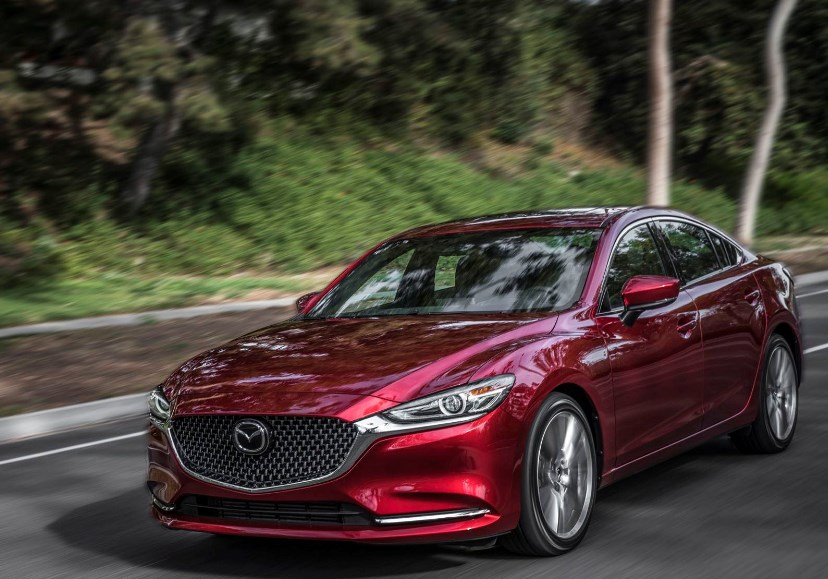 87 A 2020 Mazda 6s Speed Test