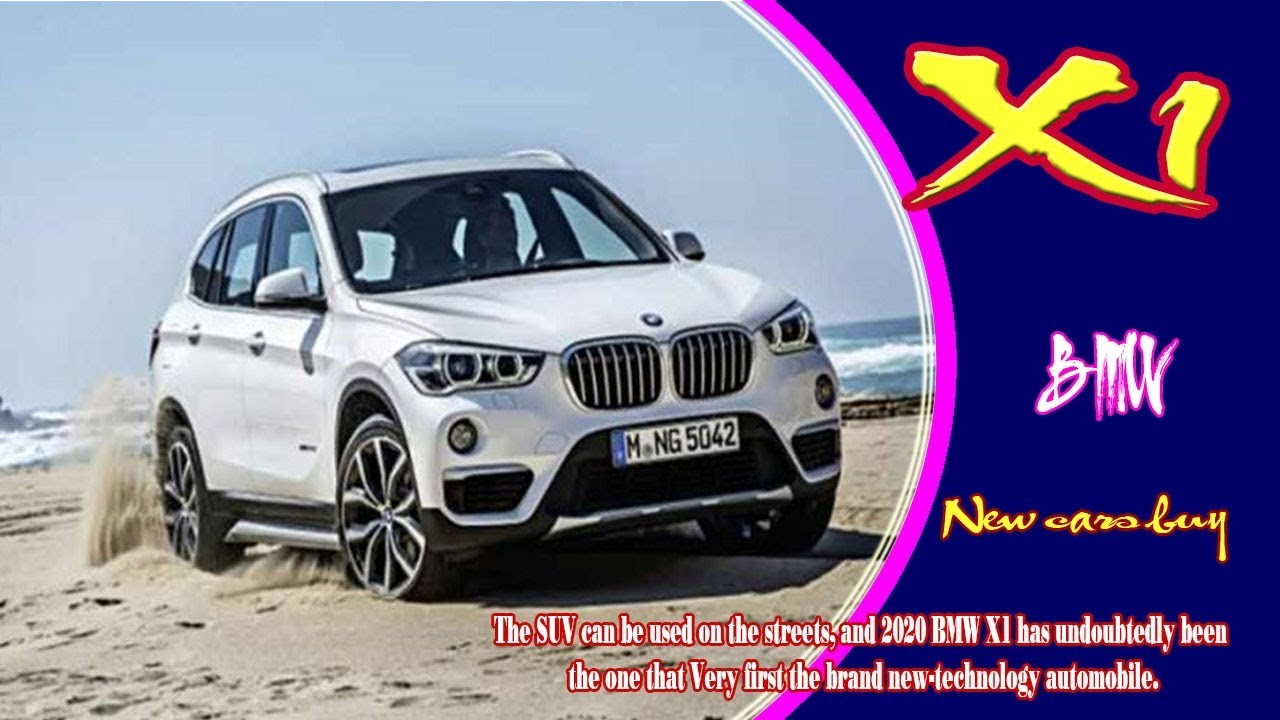 87 New 2020 BMW X1 Concept