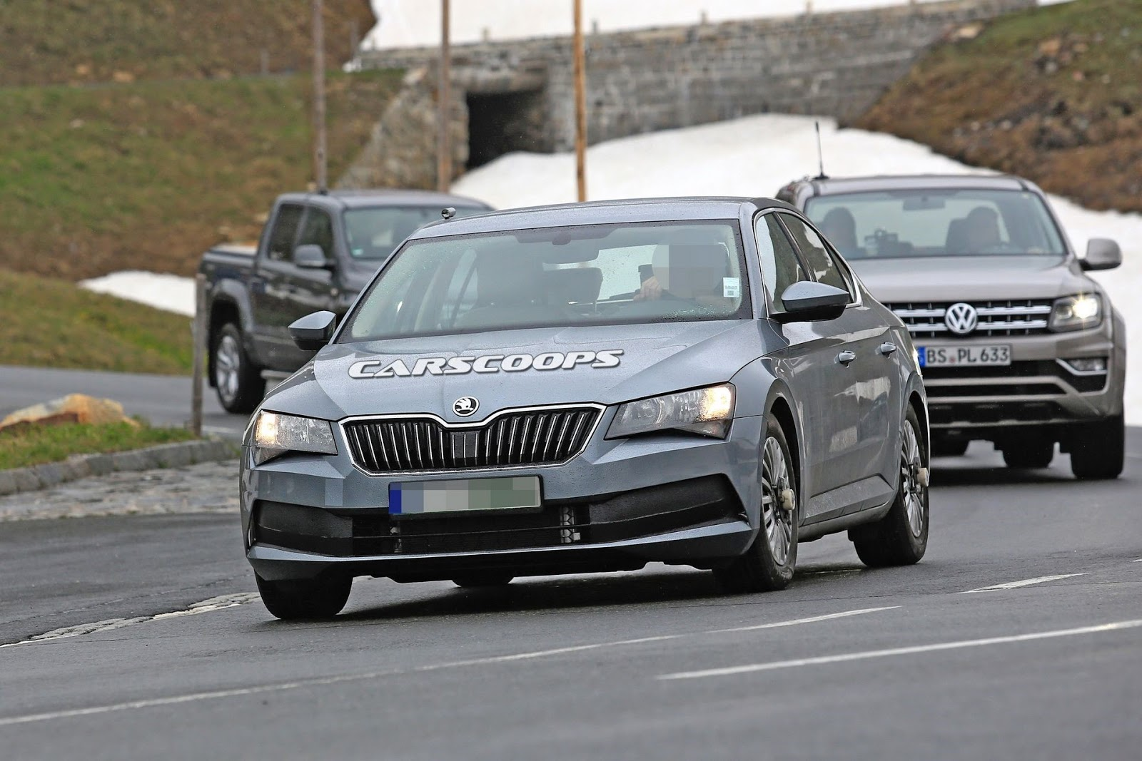 87 The Best Spy Shots Skoda Superb Redesign