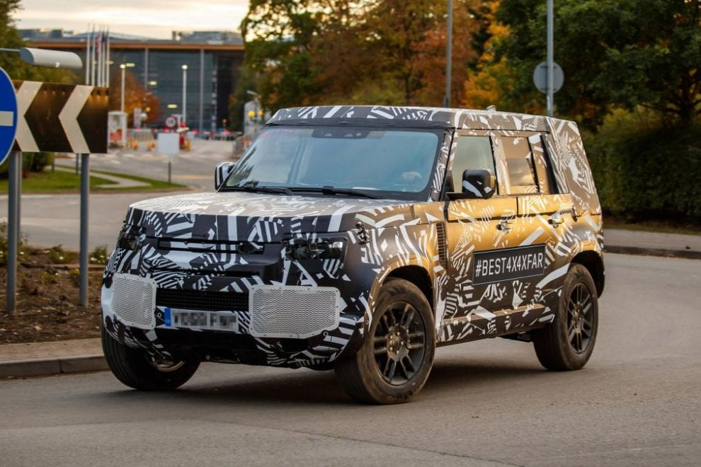 88 A 2020 Land Rover Defender Overview