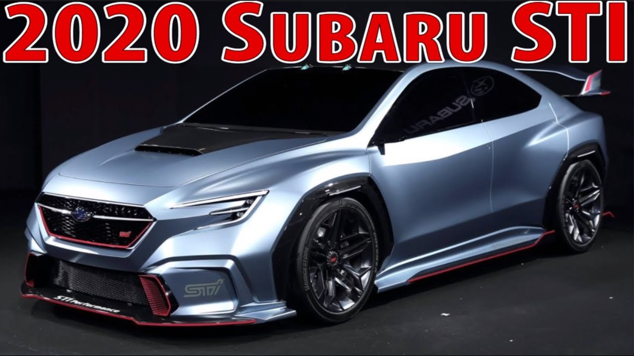 88 New 2020 Subaru Wrx Price Design and Review