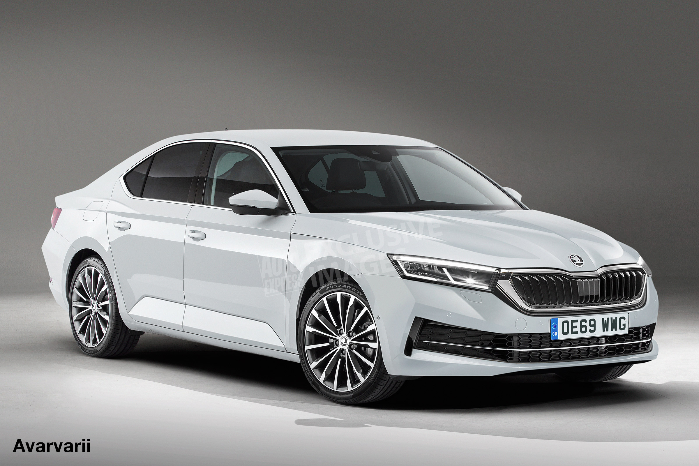 88 The 2020 Skoda Superb Picture