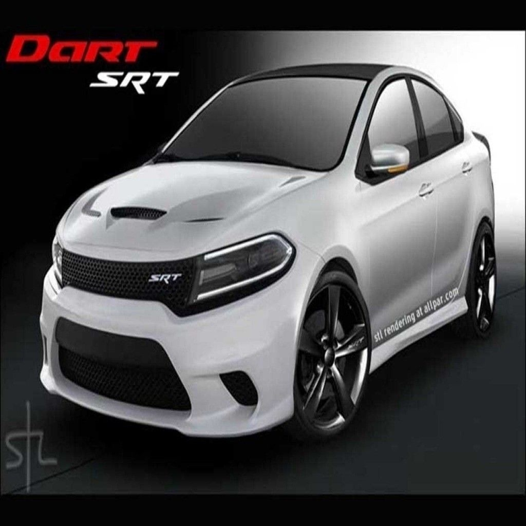 89 A 2020 Dodge Dart SRT Spy Shoot