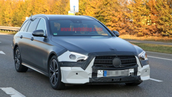 89 A 2020 The Spy Shots Mercedes E Class Speed Test