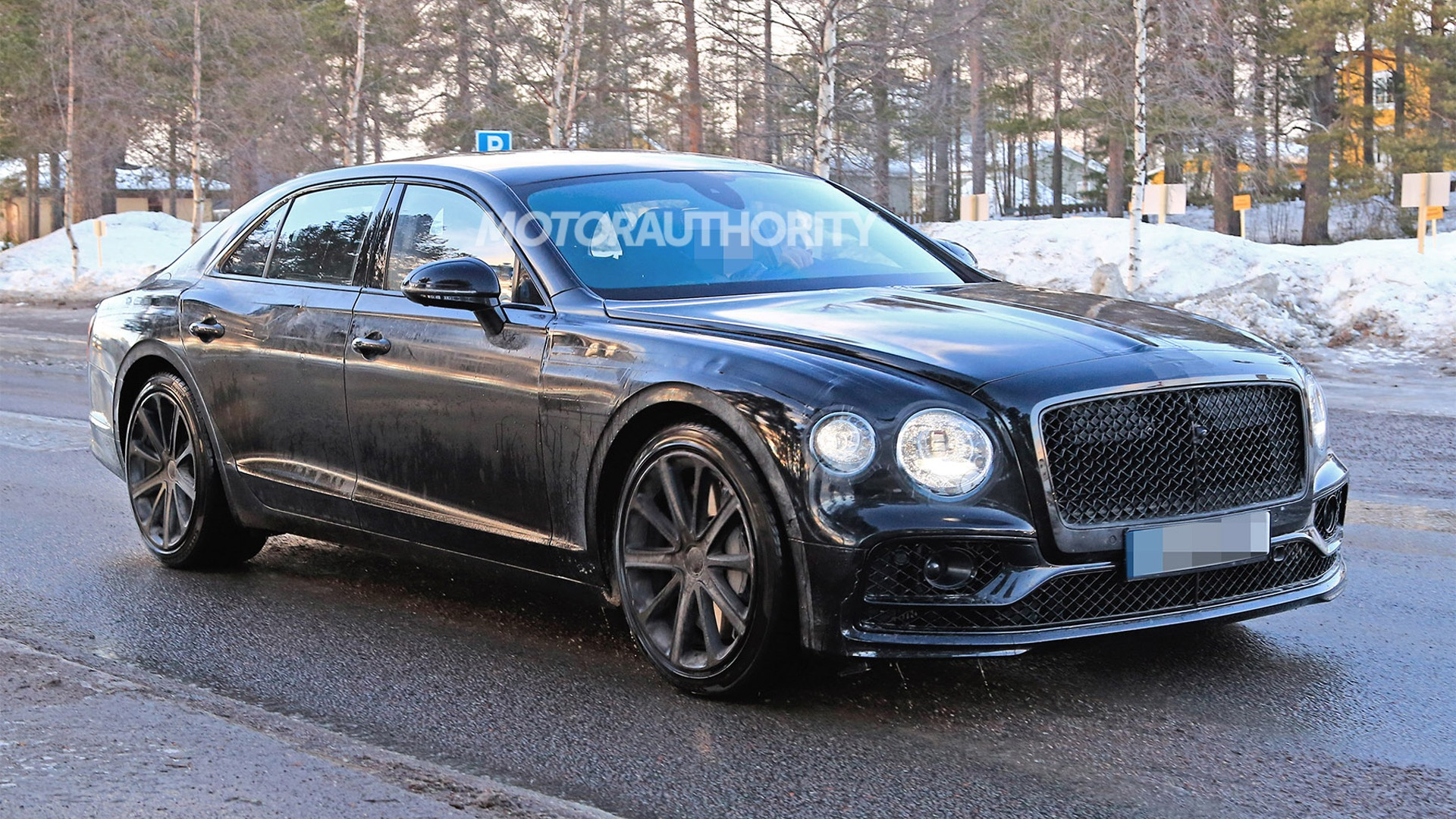 89 The 2020 Bentley Flying Spur Speed Test