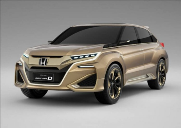 89 The 2020 Honda Crosstour New Concept