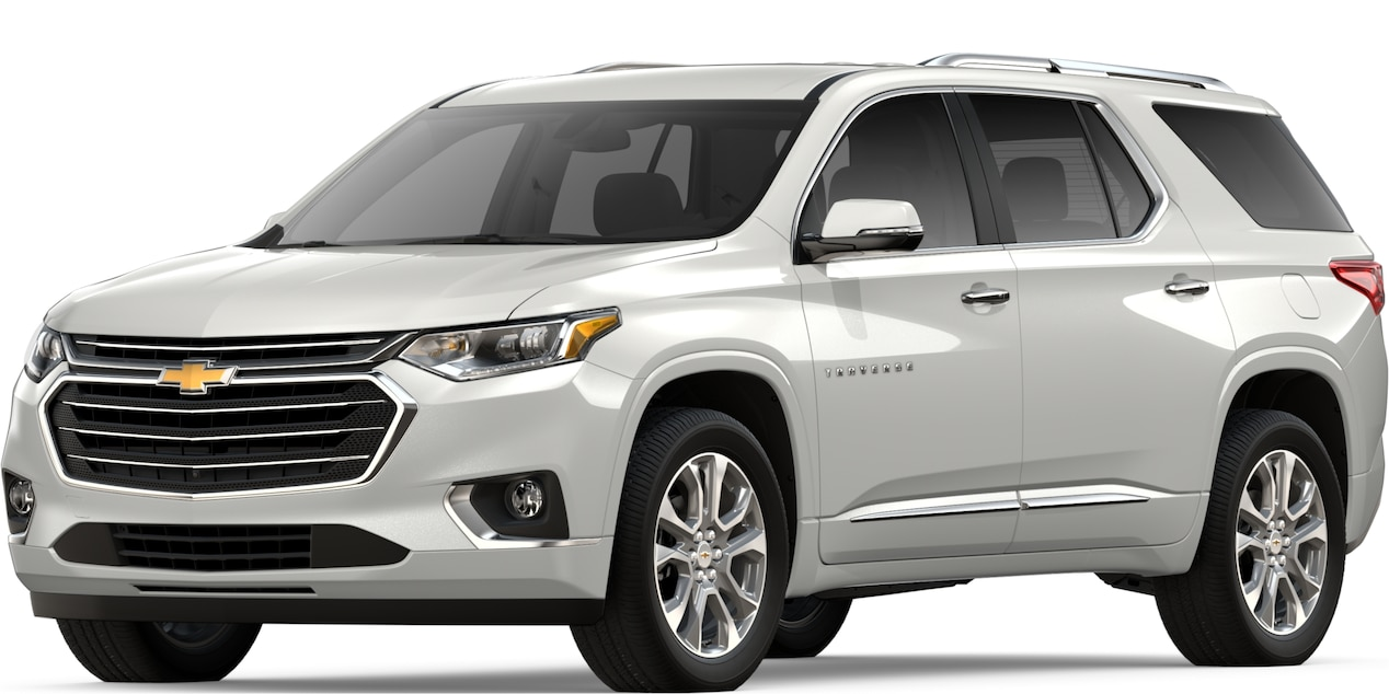 90 A 2019 Chevy Traverse Overview