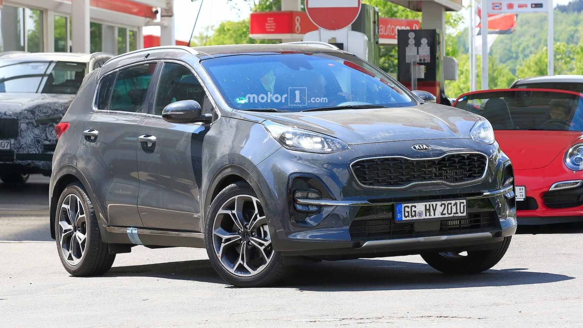 90 All New 2020 KIA SportageSpy Shots Redesign and Concept