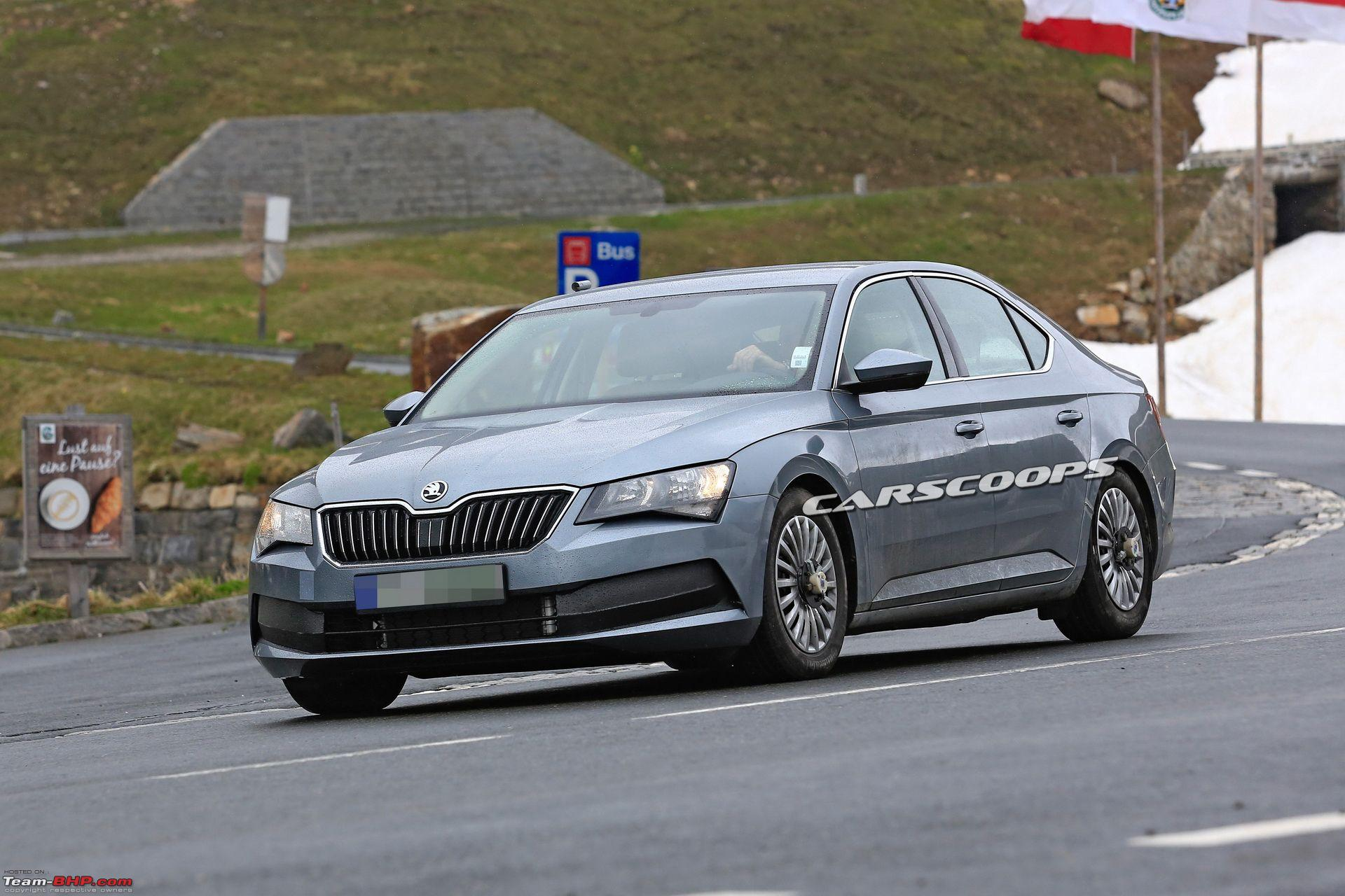 90 All New Spy Shots Skoda Superb Price and Review
