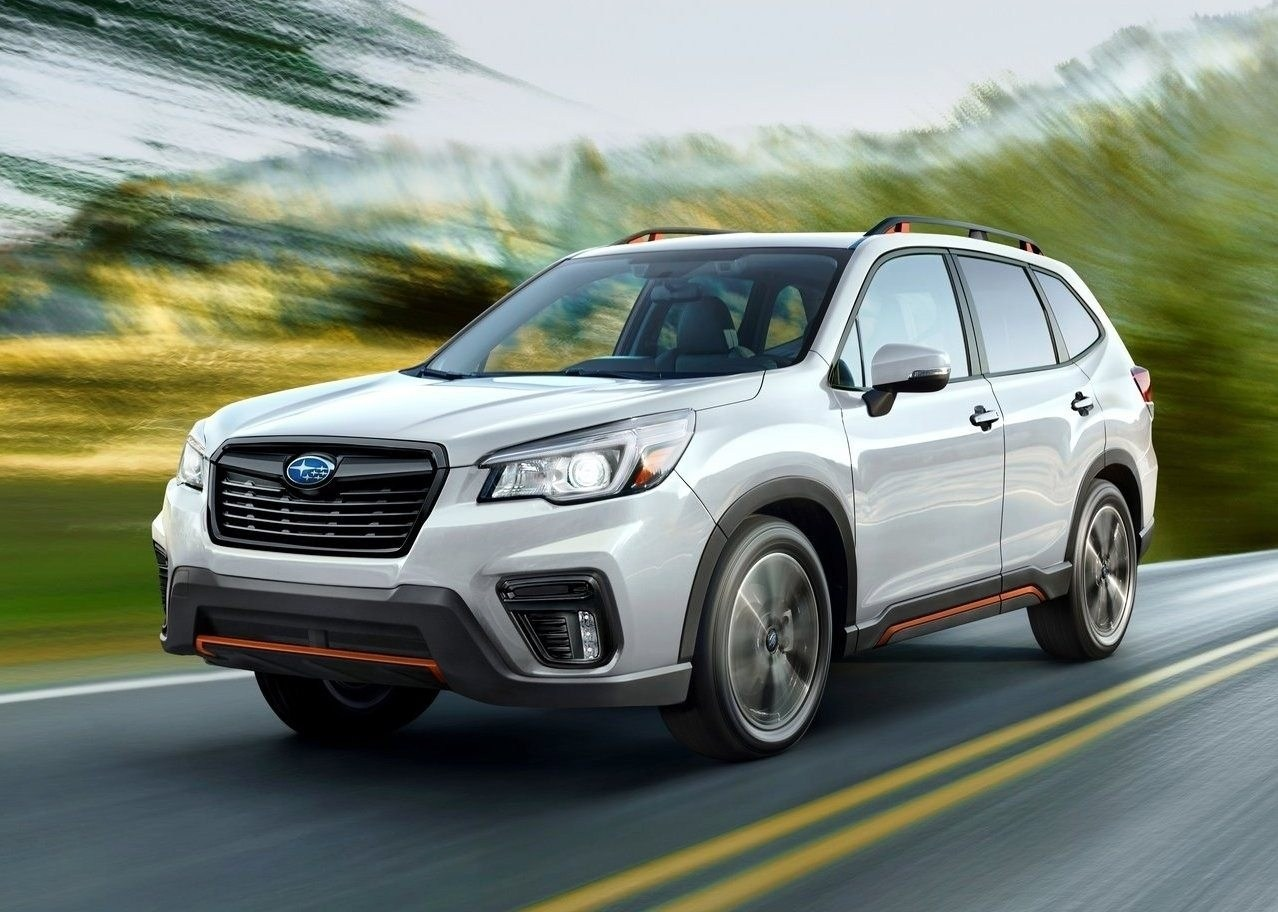 90 The 2020 Subaru Forester First Drive