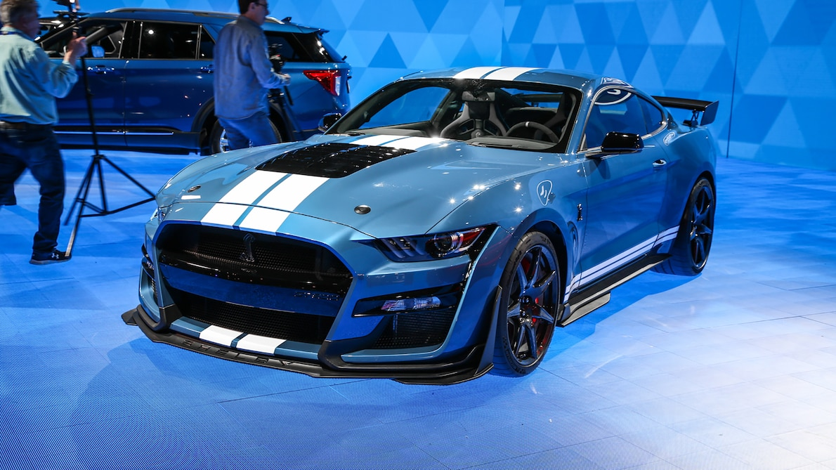 91 A 2020 Ford Mustang Shelby Gt 350 Redesign