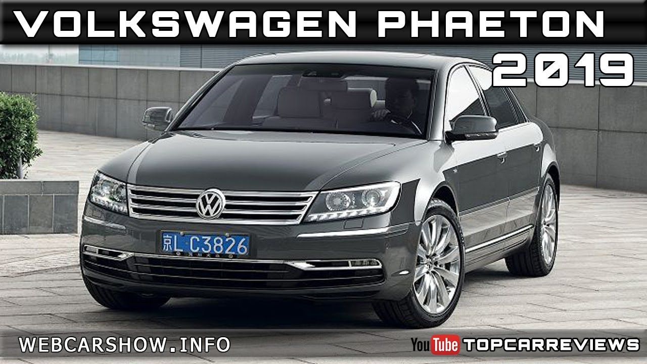 91 The 2019 VW Phaeton Redesign