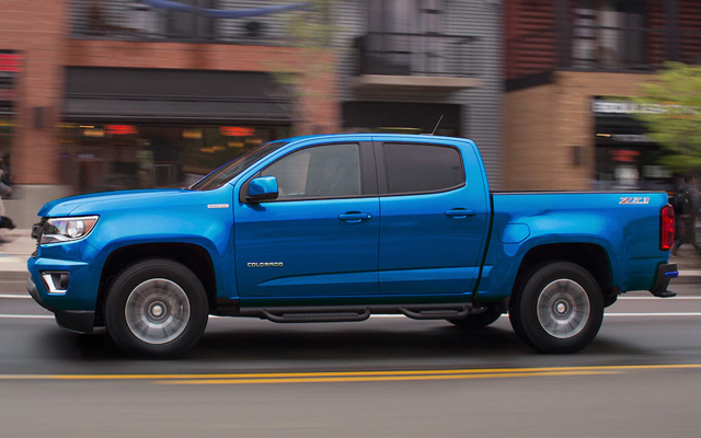 91 The 2020 Chevy Colorado First Drive