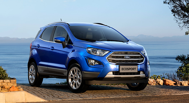 92 A 2019 Ford Ecosport Performance