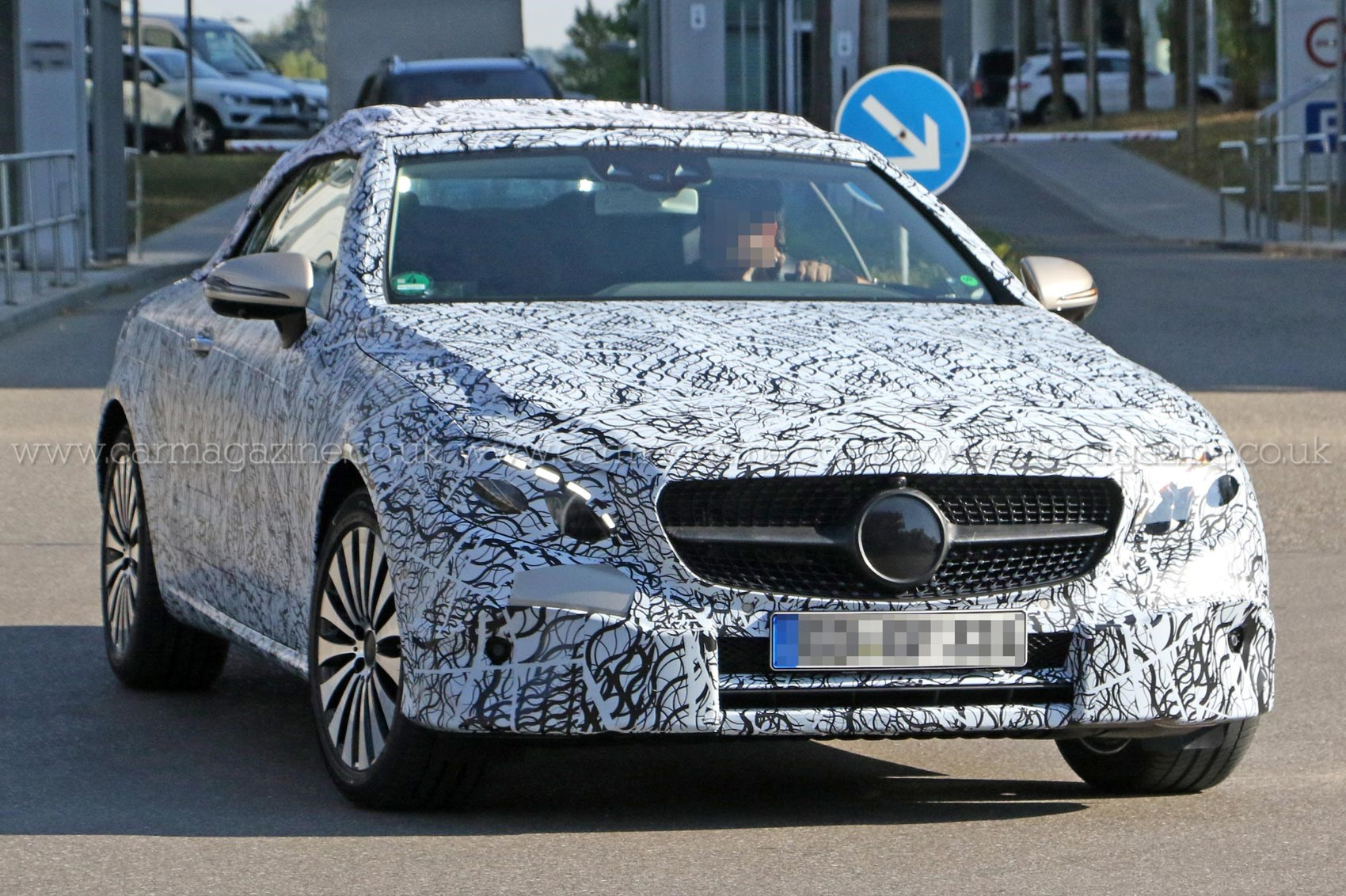 92 A Spy Shots Mercedes E Class First Drive