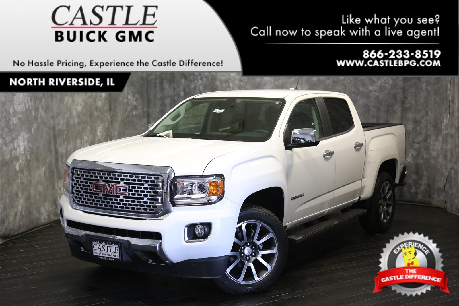 92 The 2019 GMC Canyon Denali Interior