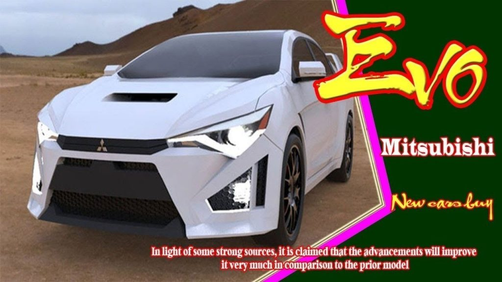 92 The 2020 Mitsubishi EVO XI Performance