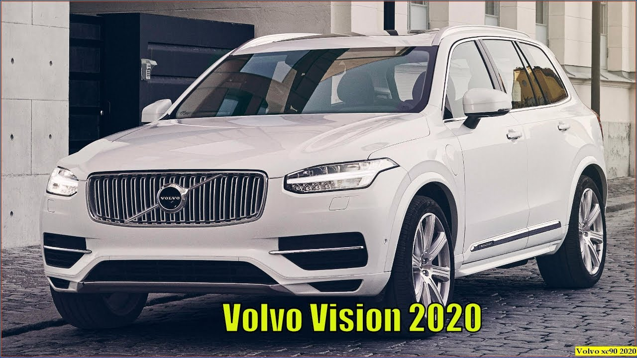 92 The 2020 Volvo XC90 New Concept