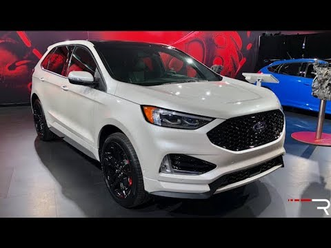93 All New 2019 Ford Edge Sport Spy Shoot