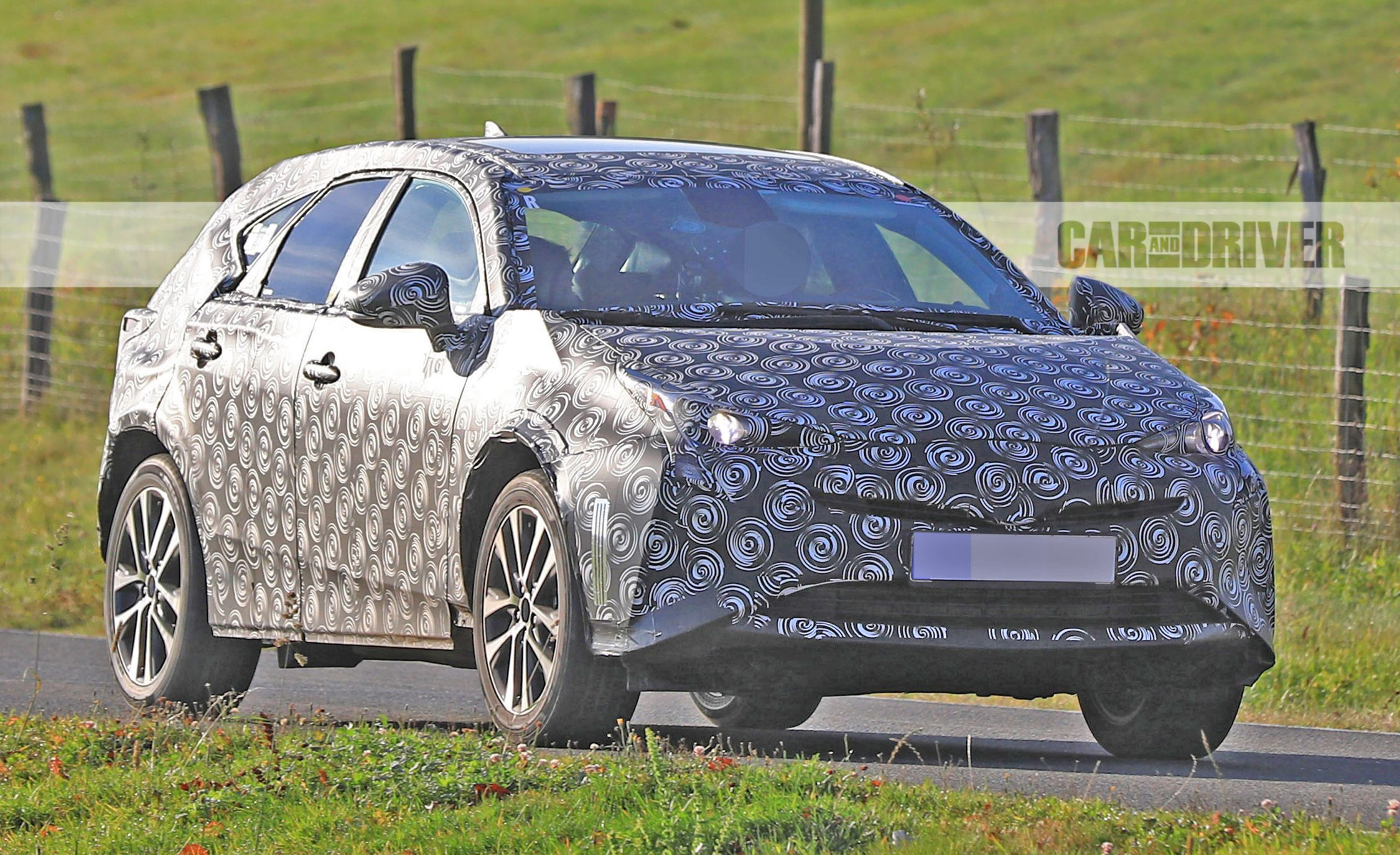93 All New Spy Shots Toyota Prius First Drive