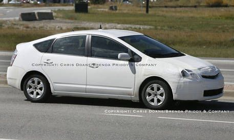 93 All New Spy Shots Toyota Prius Research New