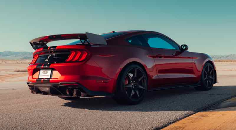 93 The 2020 Mustang Gt500 History