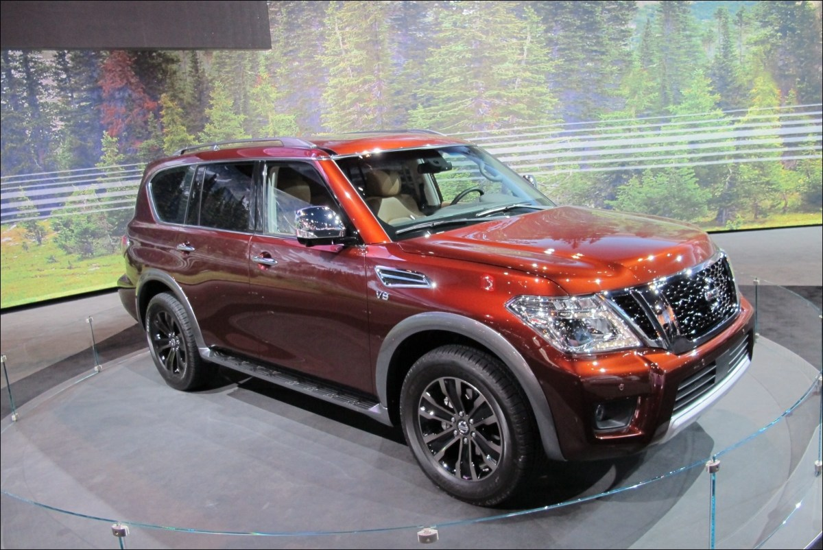 93 The 2020 Nissan Armada Release Date