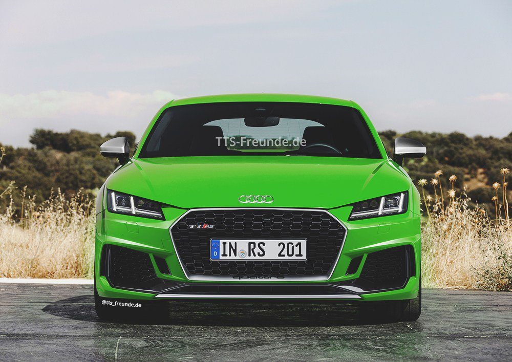 93 The Best 2019 Audi Tt Rs Photos
