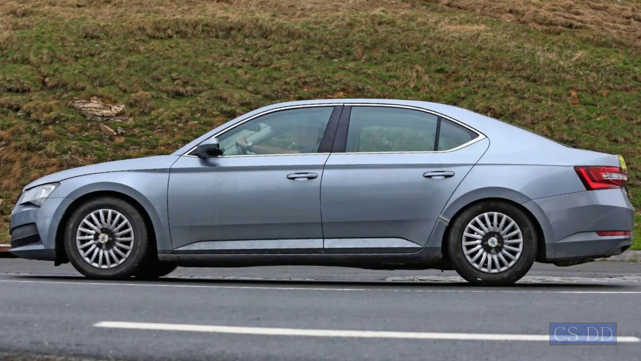 93 The Spy Shots Skoda Superb Research New
