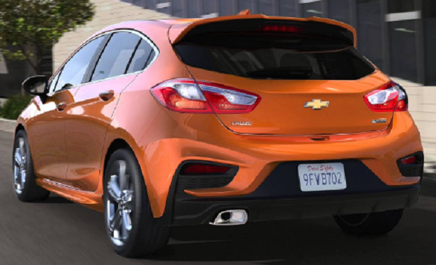 94 A 2020 Chevrolet Cruze First Drive