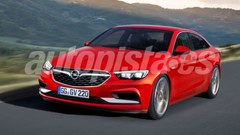 94 A 2020 New Opel Insignia Style