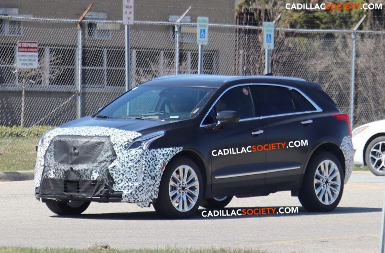 94 A 2020 Spy Shots Cadillac Xt5 Photos