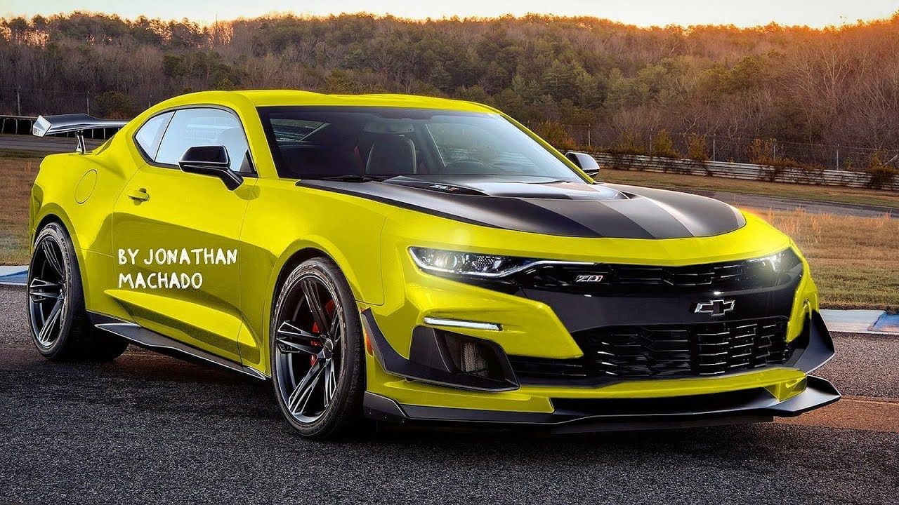 94 All New 2020 Chevy Camaro Concept and Review