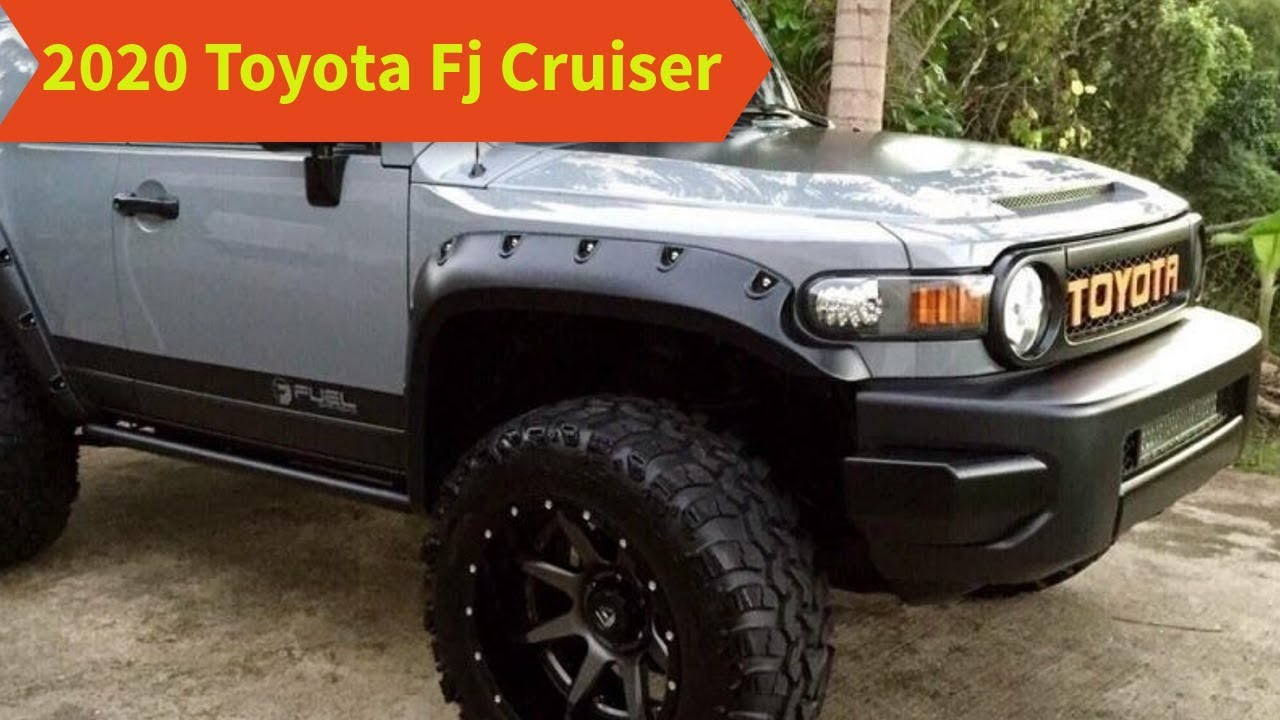 94 New 2020 Fj Cruiser New Model and Performance