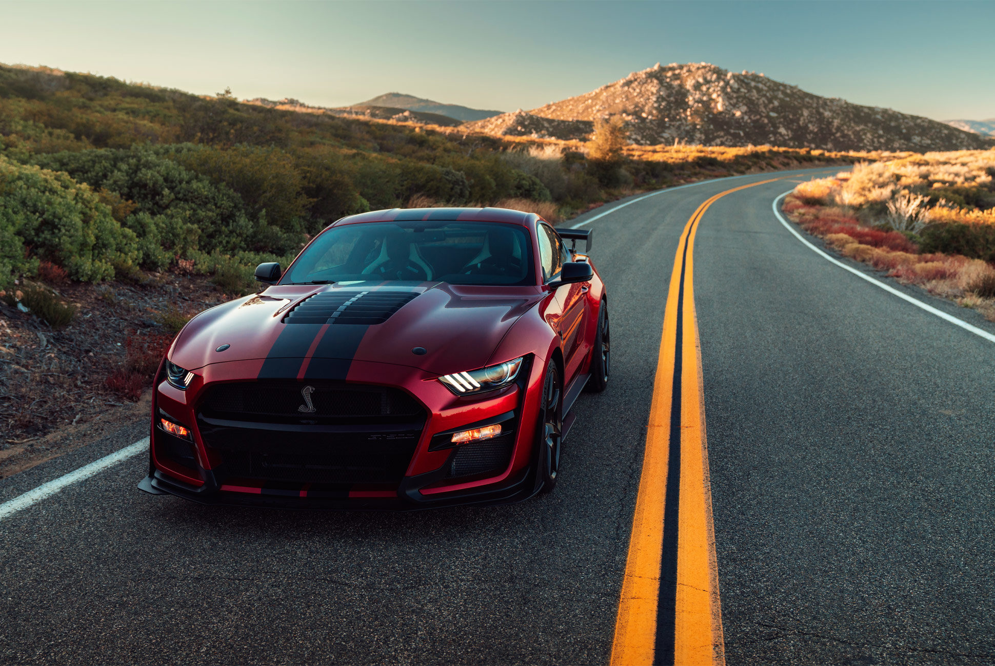 94 The 2020 Ford Mustang Shelby Gt500 Wallpaper