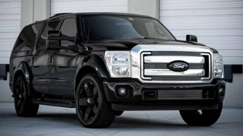 95 A 2019 Ford Excursion Diesel Concept