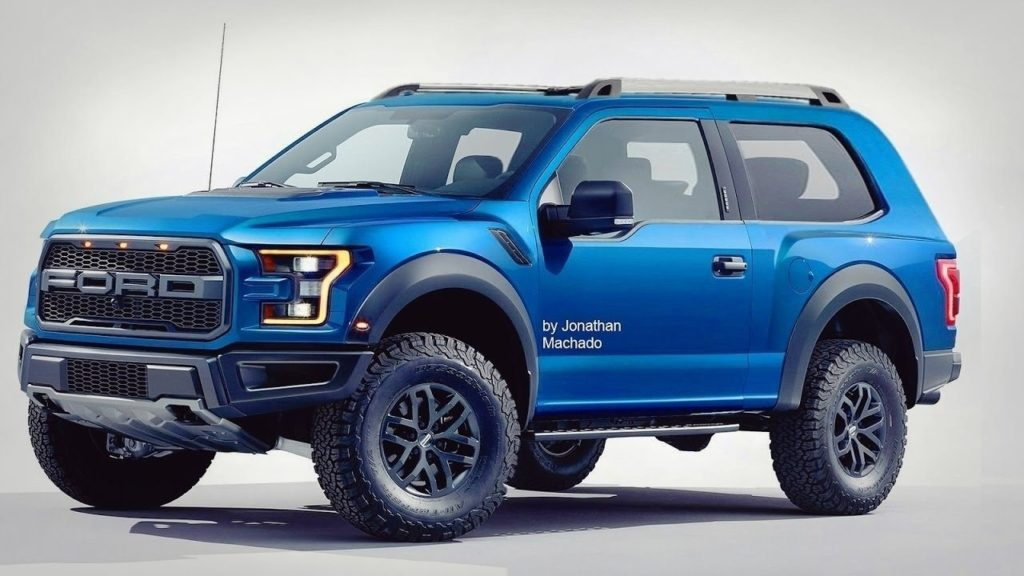 95 A 2019 Ford Svt Bronco Raptor Performance