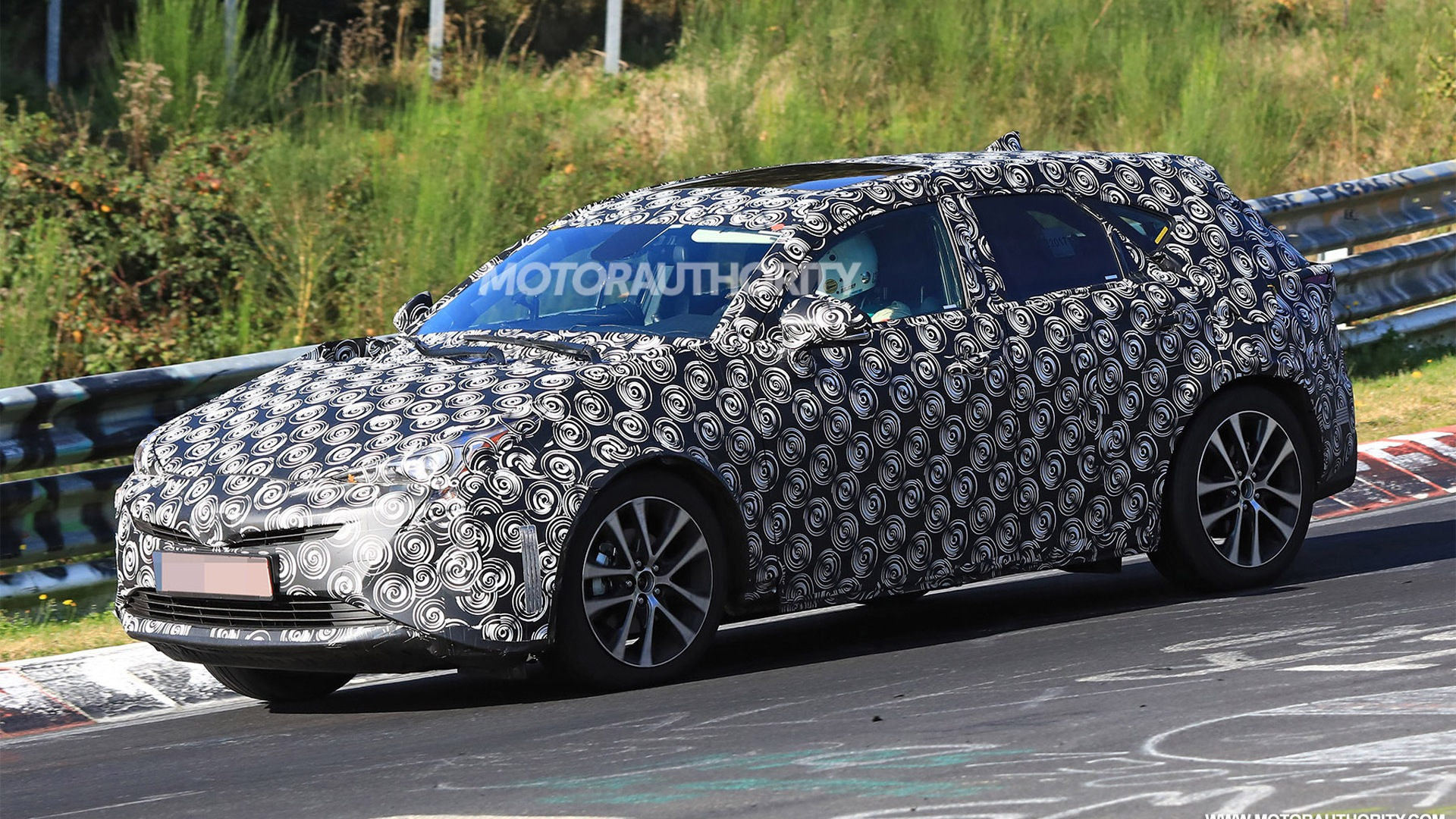 95 A Spy Shots Toyota Prius First Drive