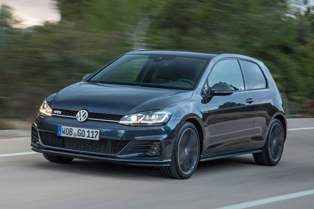 95 All New 2020 Volkswagen Golf GTD First Drive