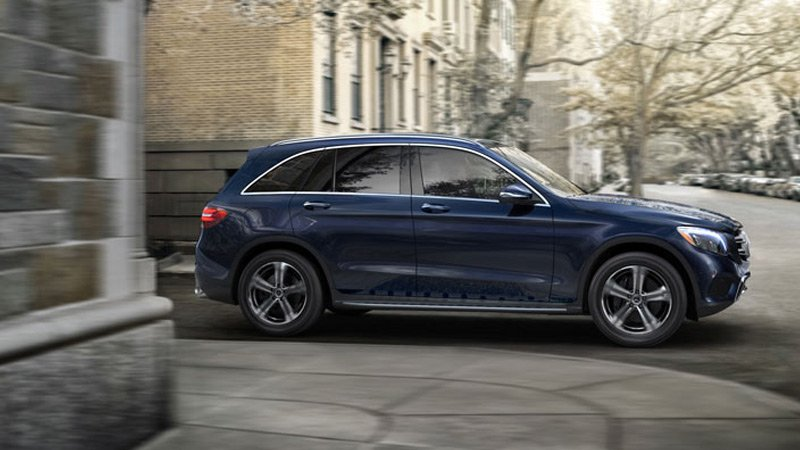 95 All New Mercedes Glc Spy Shoot