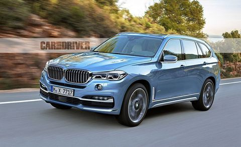 95 The 2020 BMW X7 Suv Review and Release date