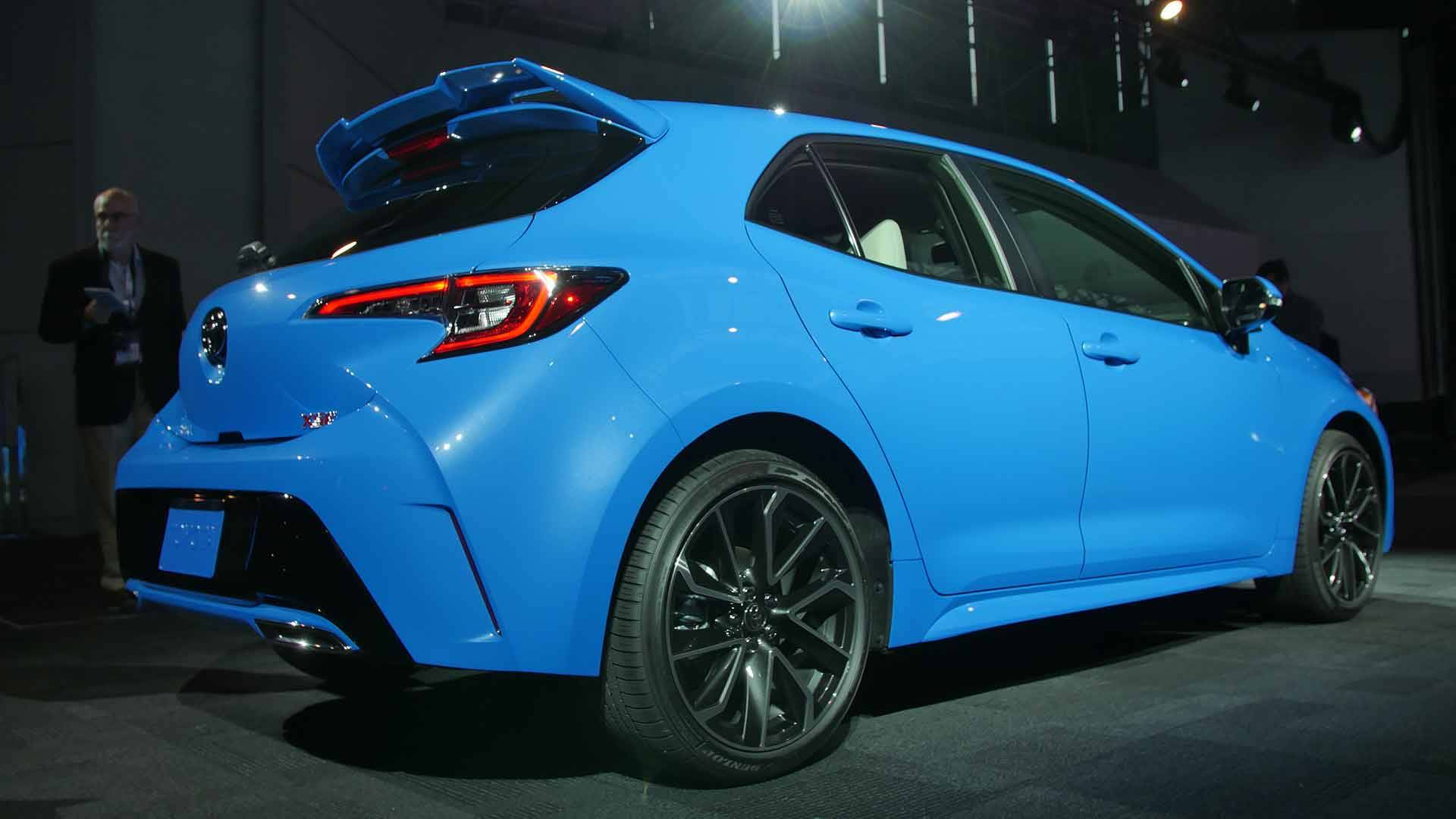 95 The 2020 Toyota Corolla Hatchback Speed Test