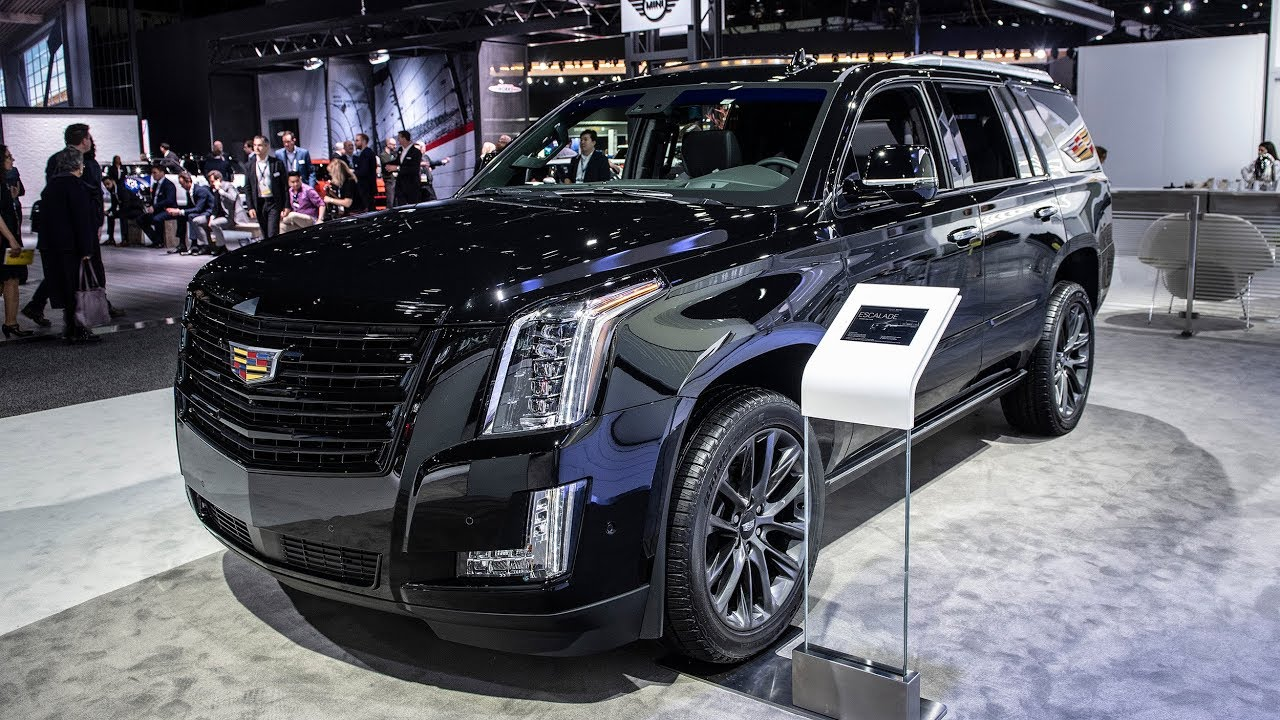 96 The 2019 Cadillac Escalade Vsport Release Date and Concept